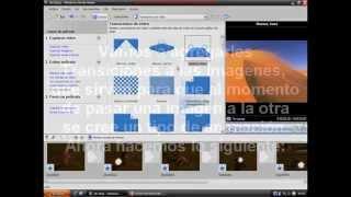 Tutorial Windows Movie Maker en Español (Como hacer un Video con imagenes) Primera parte