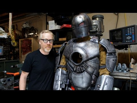 Inside Adam Savage's Cave: Iron Man Mark I
