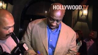 chanel-: Michael Clarke Duncan, Omarosa, Tommy Lasorda at Craig's Restaurant
