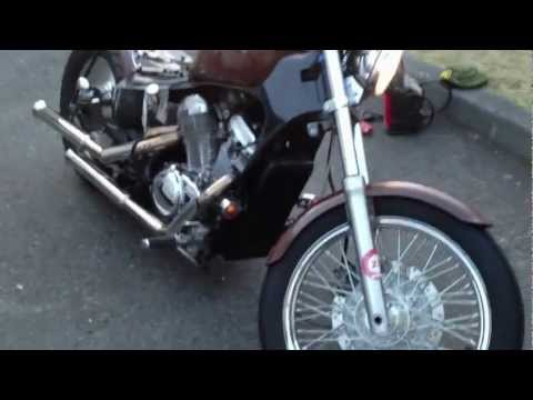 Kawasaki Vulcan 500 bobber | Video