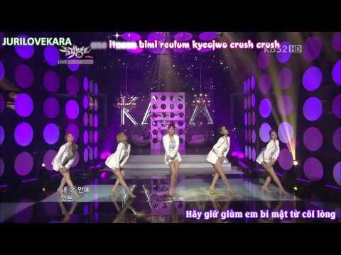 Pandora – KARA khoe vai trong comback stage live