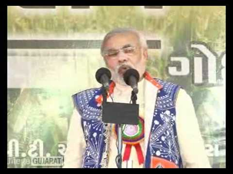 Narendra Modi's speech at Krishi Mahotsav - Godhra 02-02