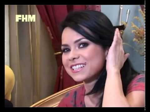 INNA @ making of FHM + interview