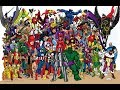 AVENGERS - All members in the chronological order in which they entered the team