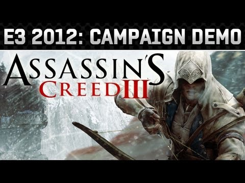 E3 2012: Assassin's Creed III Frontier Gameplay Demo (HD 720p)