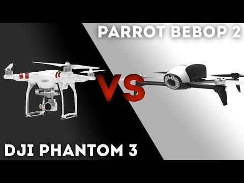 QUEL DRONE CHOISIR (-500€)  ? - PHANTOM 3 STANDARD VS BEBOP 2