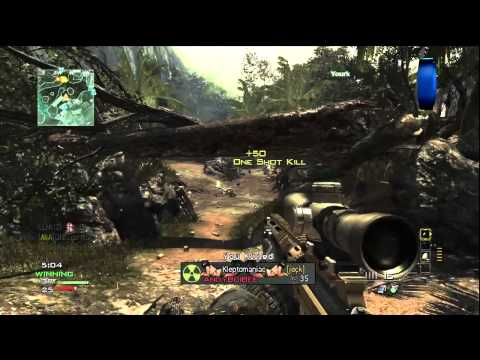 MW3 Gameplay - MSR Sniper LIVE with Ali-A! - (Call of Duty Modern Warfare 3 Multiplayer)