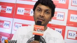 Playback singer Harish Raghavendra at Big FM