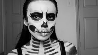 Promise Phan – Zombie Skull Girl : Last Minute Halloween Look