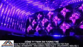 Thiết kế karaoke Minibar hiện đại, thiết kế karaoke Bóng Trăng Đồng Xoài - 0978884999
