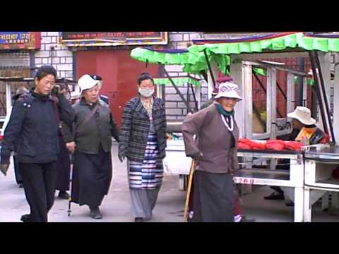 バルコルの巡礼@チベット。