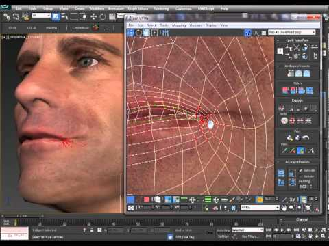 How to Texture a Head Model in 3ds Max by Mike Bauer