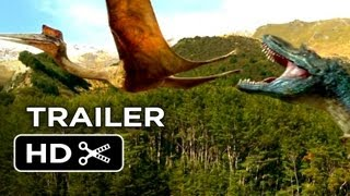 Walking With Dinosaurs 3D Official Trailer (2013) - CGI Dinosaur Movie HD
