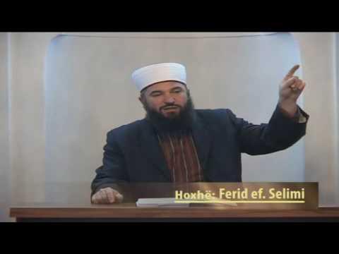 Pa dituri nuk mund të bëhemi besimtare të mirë - Hoxhë Ferid Selimi