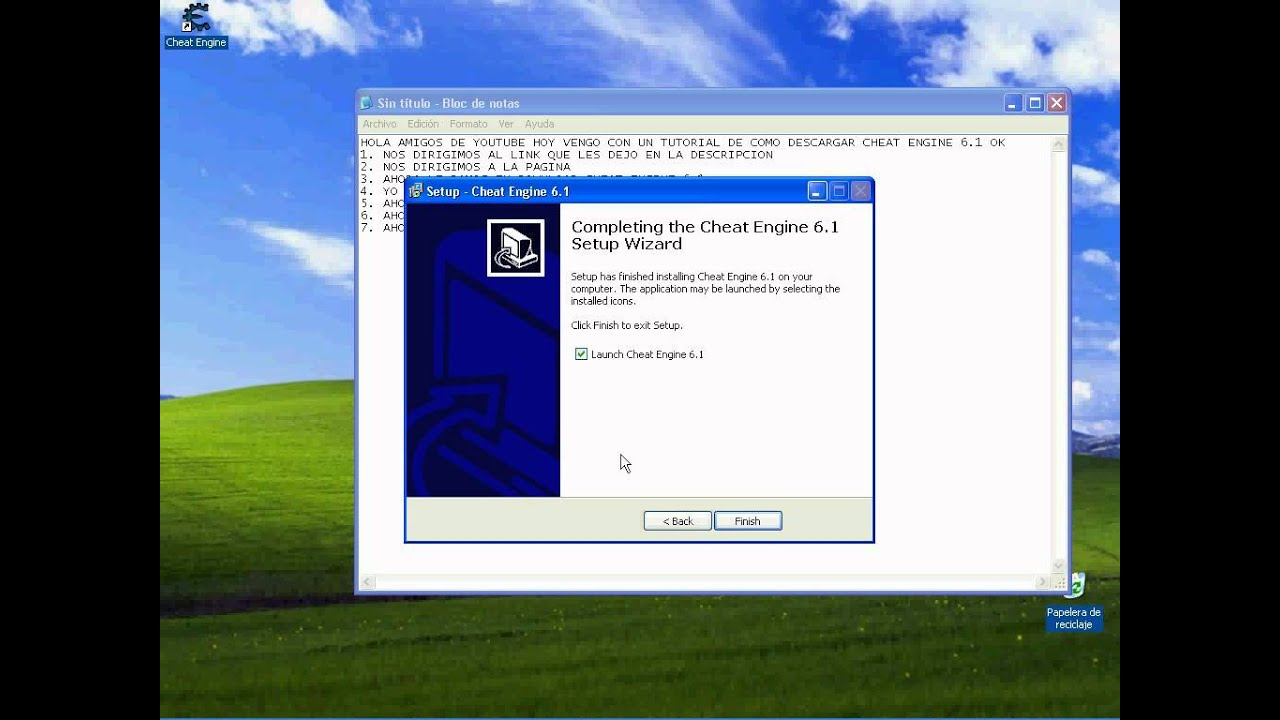 descargar cheat engine 6.1 gratis en espanol sin virus