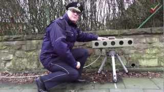 Brems dich – Rette Leben! Polizei misst Geschwindigkeit mit neuester Technik ESO 3.0