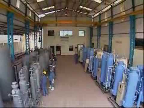 Industrial Gas Plants, PSA Nitrogen Gas Plant