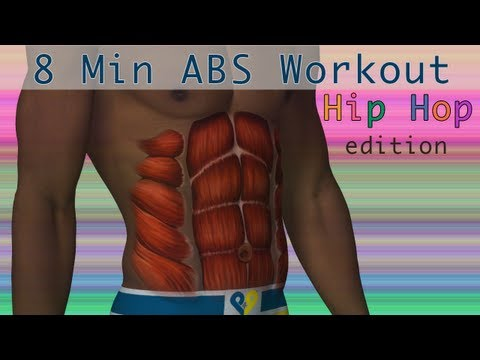 Hip Hop Workout - 8 Min Abs