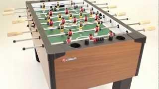 Charmant Atomic Gladiator Foosball Table   YouTube
