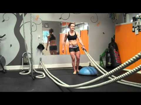 Insane Metabolic Workout: Heavy Ropes, Kettlebells, Sandbells Obstacle Mud Run Training