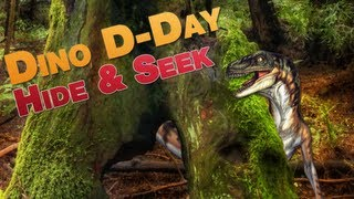 DINO HIDE & SEEK! (Dino D-Day with Nanners, Utorak, Diction)