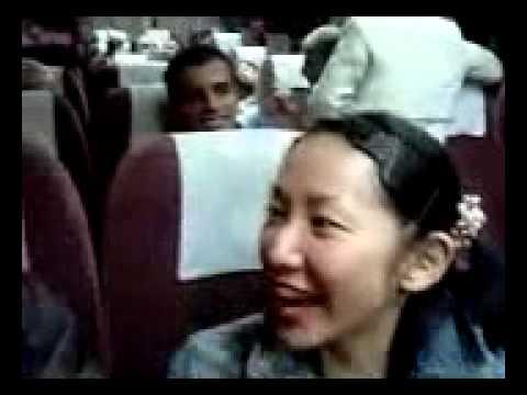 فيديو مضحك جدا صينية تغني اردني
