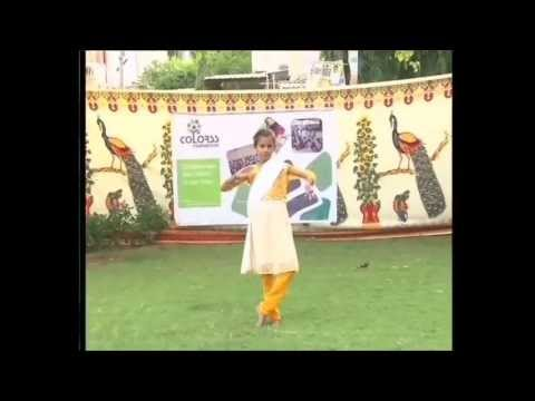 Little Nivita performing prayer dance | Colorss Foundation