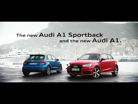 Der neue Audi A1 und A1 Sportback