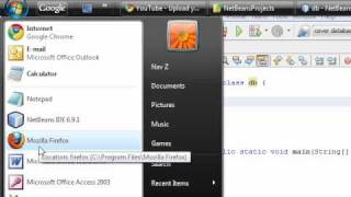 Java - Ms Access Database Application - 1 - Introduction / Creating Database
