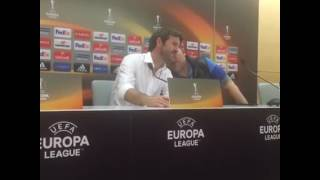 CHRISTIANSEN PRESS CONFERENCE (Olympiakos 0 VS 1 APOEL)