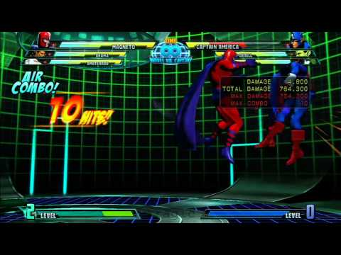 MvC3: Magneto - Combo 06 - Double Triple!