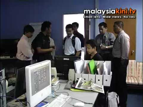 MCMC 'visits' Malaysiakini