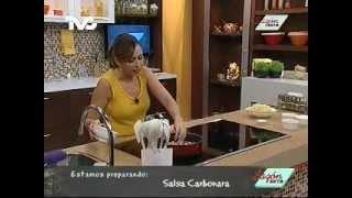 Receta para preparar Salsa Carbonara (23-03-2012)