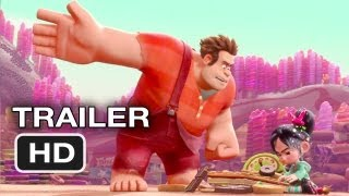 Wreck-It Ralph Official Trailer (2012) Disney Animated Movie HD