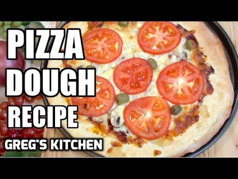 HOW TO MAKE PIZZA DOUGH - Greg's Kitchen - UCGXHiIMcPZ9IQNwmJOv12dQ