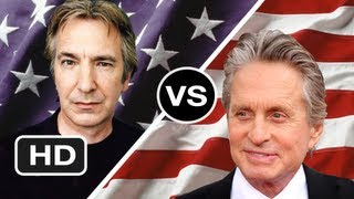 Alan Rickman vs Michael Douglas - Who's a Better Fit for Ronald Reagan? HD Movie