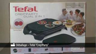 Tefal wok party duo