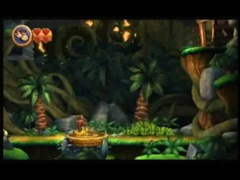 Donkey Kong Country Returns Any% Speedrun in 1:41:56