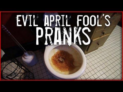 Quick and EVIL April Fool's Pranks