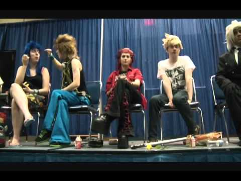 Demyx Time Panel (Sunday) Part 2/5 - Metrocon 2011