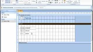 Access Tabla Cliente y Factura Relacion Cuadro combinado AINTE Centro Formación Estepona