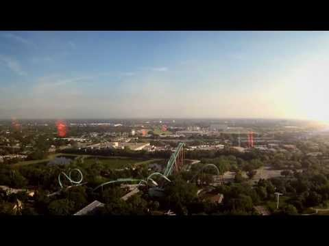 Falcon's Fury Announcement - Busch Gardens - Tampa Bay, Florida