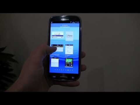 Samsung Galaxy S III Hands-On: TouchWiz