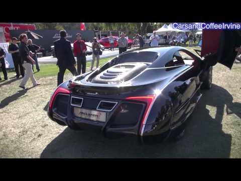 韓国人がデザインした特別モデル、マクラーレンX-1バーレーンで走る