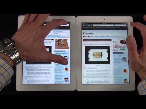 Apple iPad 3 vs iPad 2: Speed &amp; Performance Comparison
