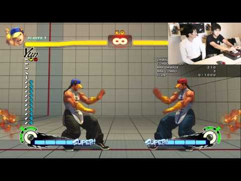 Cross Counter Yun Tutorial  :  Bonus Kara Grab