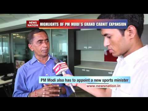 National Expert: Vijai Trivedi on Modi Cabinet reshuffle