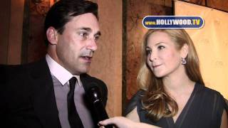 chanel-: Christopher Plummer, Jon Hamm, Jennifer Westfeldt at New York Stage and Film Gala