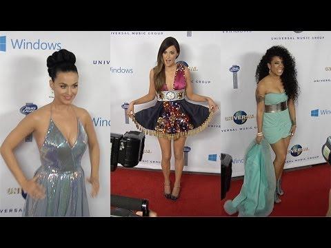 Katy Perry, Keyshia Cole, Kacey Musgraves, Anna Kendrick 2014 UMG Grammy Party - maximotv