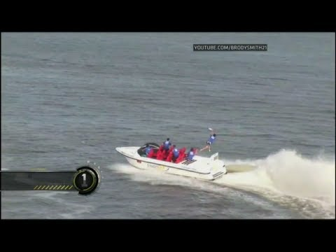 Speed Boat Catch - ESPN #1 Top 10 Play (Brodie Smith)